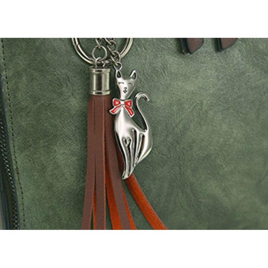 Женские сумки - Женская сумка, коричневая 0765