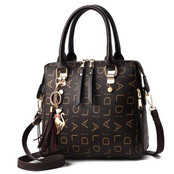 Женская сумка, коричневая 0766