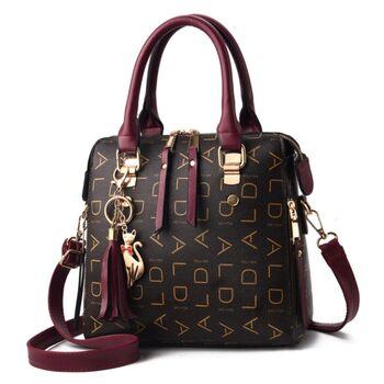 Женская сумка, коричневая 0767
