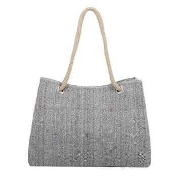 Женская сумка Scione, серая П0772