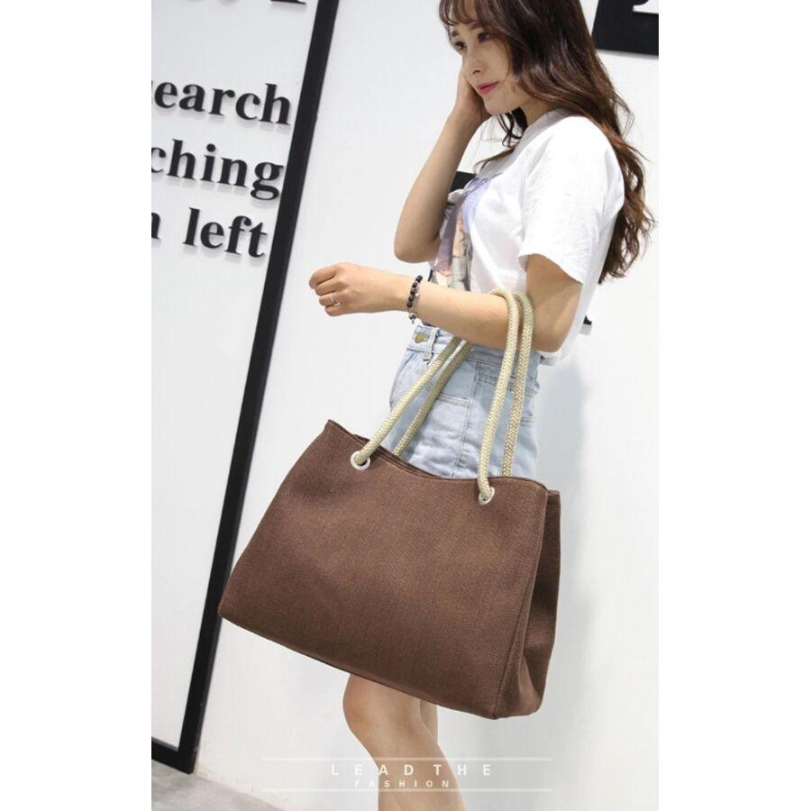 Женские сумки - Женская сумка Scione, коричневая 0773