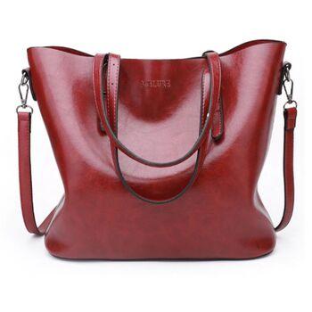 Женская сумка ACELURE, красная 0778