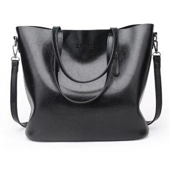 Женская сумка ACELURE, черная 0779