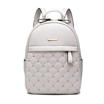 Женский рюкзак ACELURE, белый П0784