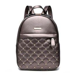 Женский рюкзак ACELURE, бронза 0785