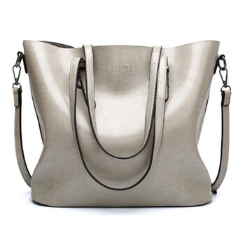 Женская сумка ACELURE, серая 0787