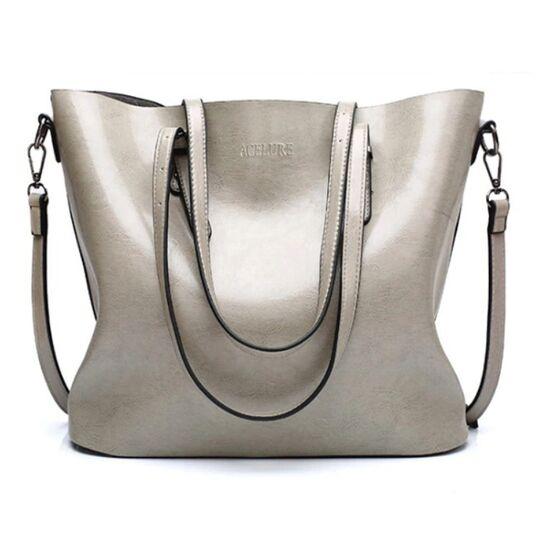 Женские сумки - Женская сумка ACELURE, серая П0787