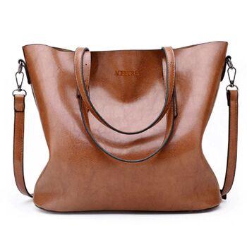 Женская сумка ACELURE, коричневая 0788