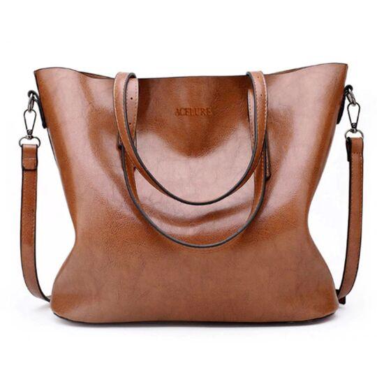 Женские сумки - Женская сумка ACELURE, коричневая П0788