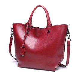 Женская сумка ACELURE, красная 0789