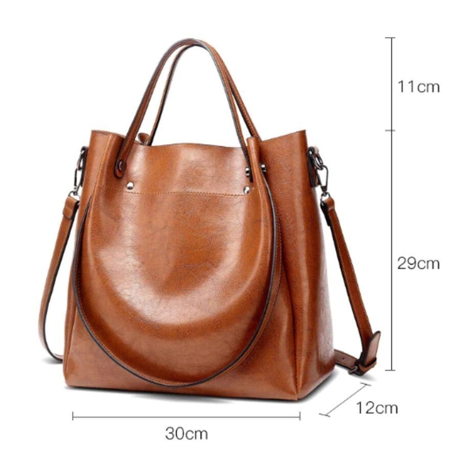 Женские сумки - Женская сумка ACELURE, черная 0791