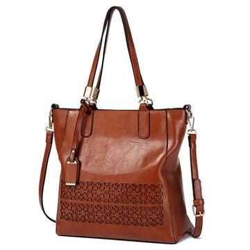 Женская сумка ACELURE, коричневая П0792