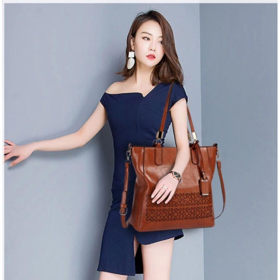 Женские сумки - Женская сумка ACELURE, коричневая 0792