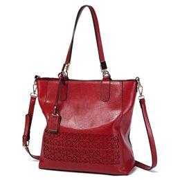 Женская сумка ACELURE, красная 0794
