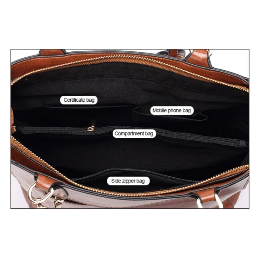 Женские сумки - Женская сумка ACELURE, красная 0794