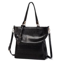 Женская сумка ACELURE, черная 0795