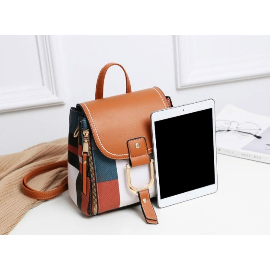 Женские рюкзаки - Женский рюкзак ACELURE, коричневый 0801