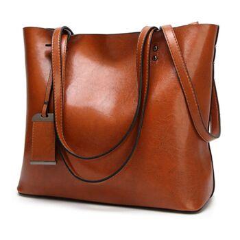 Женская сумка ACELURE, коричневая 0802