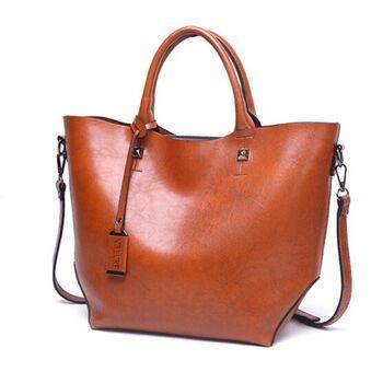 Женская сумка ACELURE, коричневая 0806