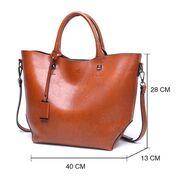 Женские сумки - Женская сумка ACELURE, коричневая П0806