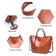 Женские сумки - Женская сумка ACELURE, коричневая П0807