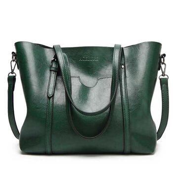 Женская сумка ACELURE, зеленая П0808