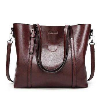 Женская сумка ACELURE, коричневая 0809