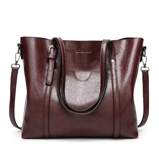 Женские сумки - Женская сумка ACELURE, коричневая П0809