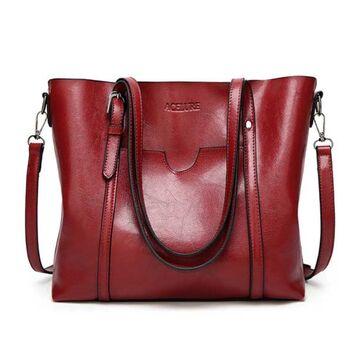 Женская сумка ACELURE, красная 0810