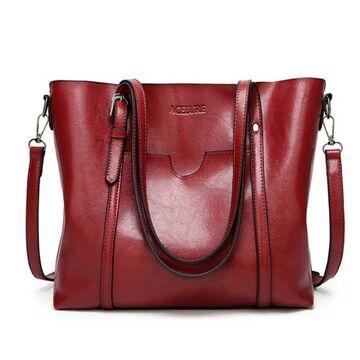 Женская сумка ACELURE, красная П0810