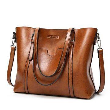 Женская сумка ACELURE, коричневая П0811