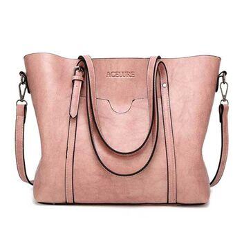 Женская сумка ACELURE, розовая П0812