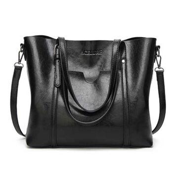 Женская сумка ACELURE, черная П0814