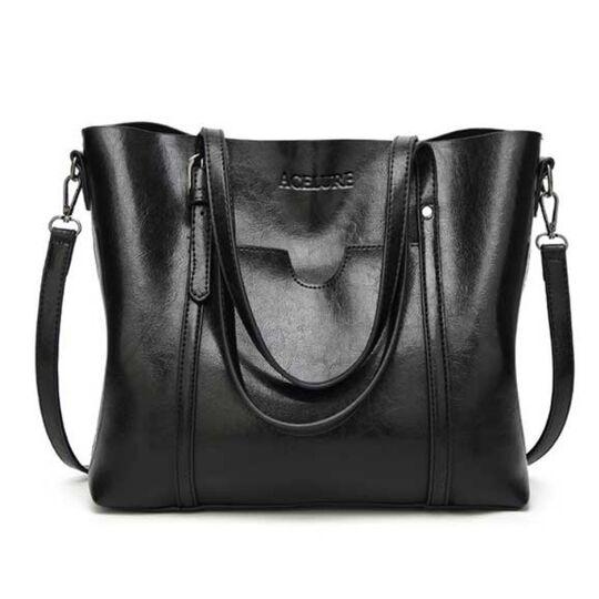 Женские сумки - Женская сумка ACELURE, черная П0814