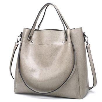Женская сумка ACELURE, серая 0815