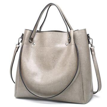 Женская сумка ACELURE, серая П0815