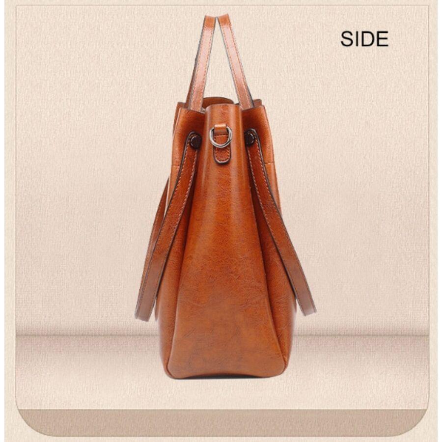 Женские сумки - Женская сумка ACELURE, серая 0815