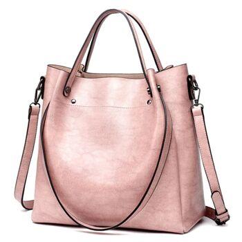 Женская сумка ACELURE, розовая 0816