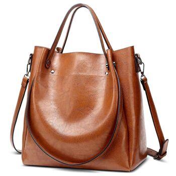 Женская сумка ACELURE, коричневая 0817