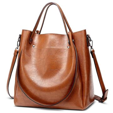 Женская сумка ACELURE, коричневая П0817