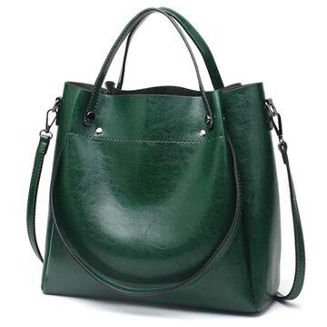 Женская сумка ACELURE, зеленая П0818