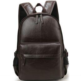 Мужской рюкзак VORMOR, коричневый 0843