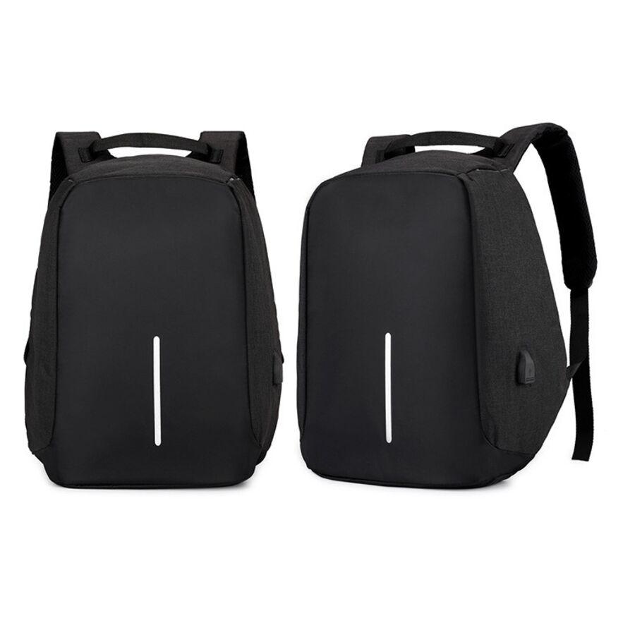 Рюкзаки для ноутбуков - Рюкзак для ноутбука OUBDAR, черный 0844