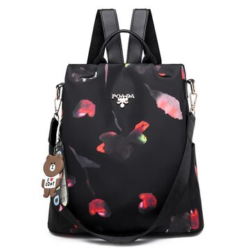 Женский рюкзак TuLaduo, черный П0847