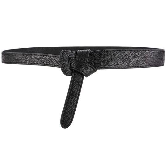 Женские ремни и пояса - Женский пояс, черный П0854