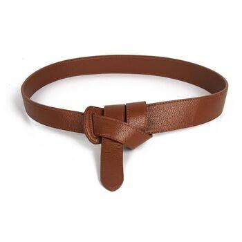 Женский пояс, коричневый 0856