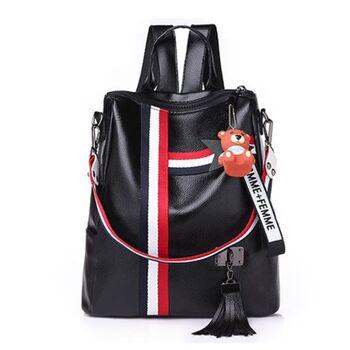 Женский рюкзак LISM, черный П0861