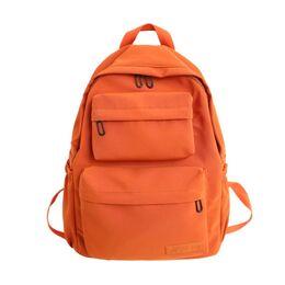 Женский рюкзак DCIMOR, оранжевый 0864