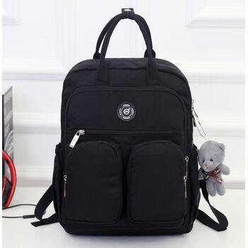 Женский рюкзак, черный П0867
