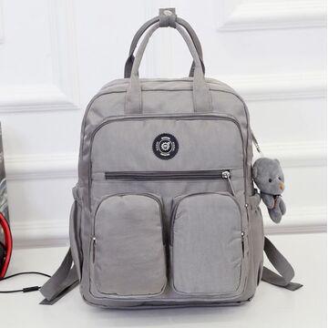 Женский рюкзак, серый П0868